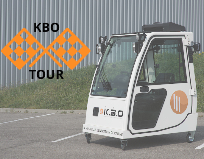 KBO Tour : le tour de France de l'innovation cabine